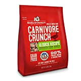 Stella & Chewy's Freeze-Dried Raw Carnivore Crunch Cage-Free Duck Recipe Grain-Free Dog Treats, 3.25 oz bag