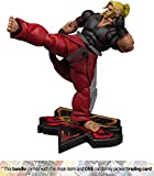 "Ken: ~7"" 1/12 Street Fighter V x Storm Collectibles Action Figure + 1 Video Games Themed Trading Card Bundle"