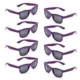 Best Glasses With Purples - Neon Colors Party Favor Supplies Unisex Sunglasses Pack Review