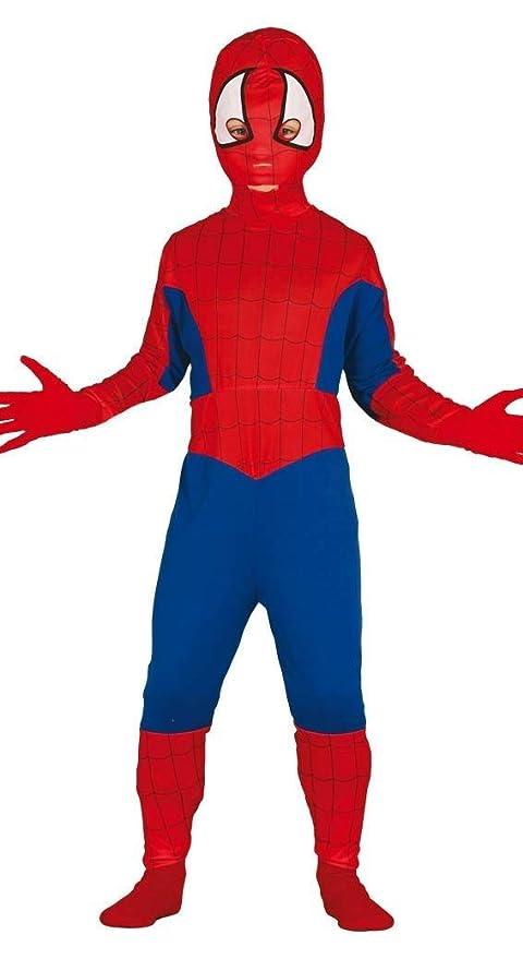prestazione affidabile sito autorizzato colore veloce Costume Spiderman uomo ragno carnevale bambino Taglia 5-6 anni