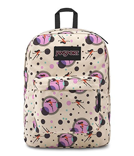 JanSport Incredibles Superbreak Backpack - Incredibles Violet Dot
