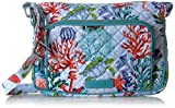 Vera Bradley Iconic RFID Little Hipster, Signature Cotton, Shore Thing