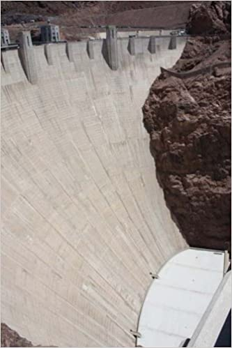 Top 50 Man Made Wonders Hoover Dam 150 Page Lined Journal: 150 Page Lined Journal