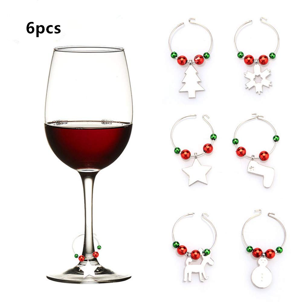 Amazoncom Kingpig Wine Glass Decorations Markers Charms Party