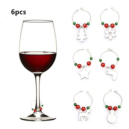 Amazon Kingpig Wine Glass Decorations Markers Charms Party