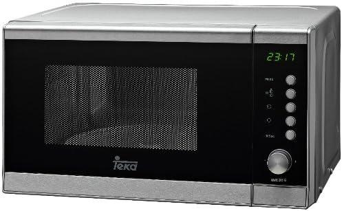 Teka Mwe205G - Microondas inoxidable, 20L, pantalla digital ...