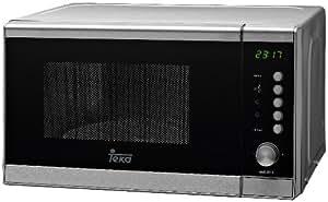 Teka Mwe205G - Microondas inoxidable, 20L, pantalla digital