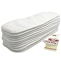 Fairy Baby Super Thick Reuseable Softcare Baby Cloth Diaper Inserts,Pack of 1...