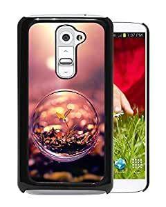 Macro Bubble And Plant Durable High Quality LG G2 Phone Case