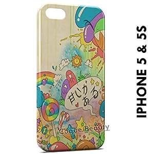 Carcasa Funda iPhone 5/5S Kawaii Style Protectora Case Cover