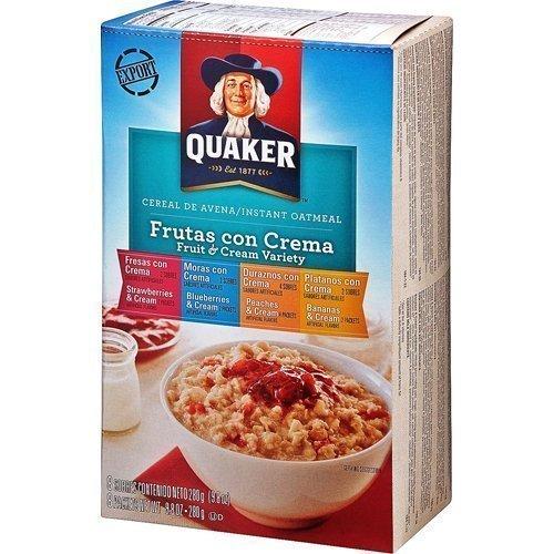 Avena Quaker Frutas y Crema Variedad paquete 280gX2: Amazon.es: Alimentación y bebidas