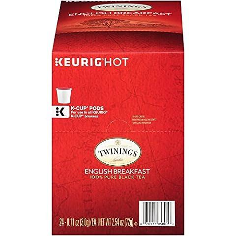 Twinings English Breakfast Tea, Keurig K-Cups, 24 Count - Special Breakfast