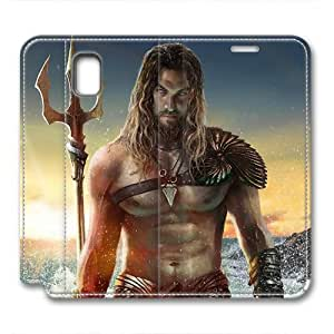 iCustomonline Leather Case for Samsung galaxy Note 3, Aquaman Stylish Durable Leather Case for Samsung galaxy Note 3
