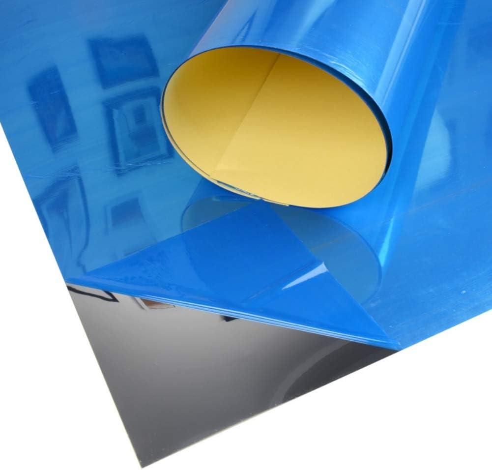 TJK 10PCS Soft Mirror Wall Stickers- 9x6inch DIY Self-Adhesive Mosaic Tiles PET Decorative Mirror- Home Decoration Mirror Decor Sticker Wall Treatments for Bathroom Living Room 23x15cm