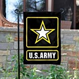 12X18 Us Army Star Double Sided 2Ply Nylon Knit Garden Flag