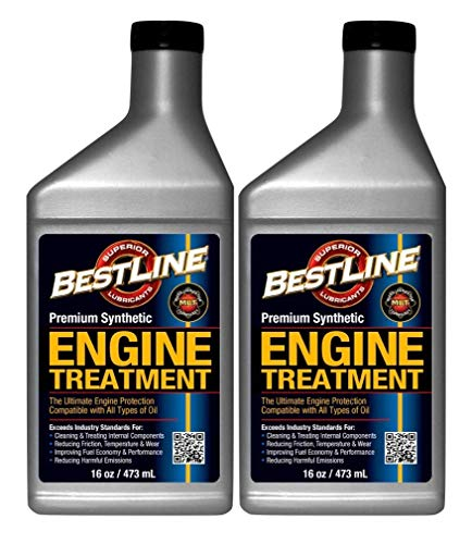 Bestline Premium Synthetic Engine Treatment - 2 Pack