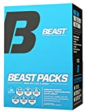 vitamin packs for men - Beast Sports Nutrition – Beast Packs – All-in-One Daily Multivitamin Performance Pack – Joint Complex – Fish Oil – Improves Overall Well-Being – Promotes Healthy Immune System – 30 Servings