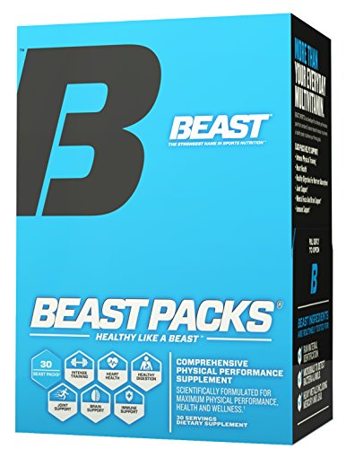 Beast Sports Nutrition, Beast Packs, Physical Performance Supplement, 30 Packs