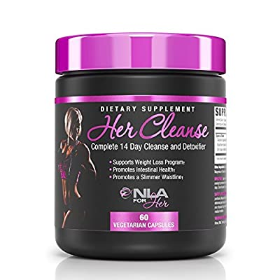 NLA for Her - Her Cleanse - Complete Detoxifier and Cleanse - 60 Vegetarian Capsules