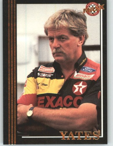 1992 Maxx Black Racing Card # 104 Robert Yates - NASCAR Trading Cards - Shipped in Screw Down (Robert Yates Racing)