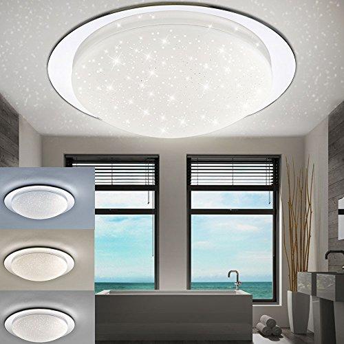 Led 18 Watt Decken Lampe Sternen Himmel Badezimmer Leuchte Ip44 Cct