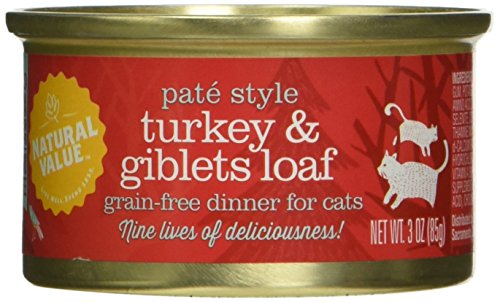 Natural Value Pate Style Canned Cat Food