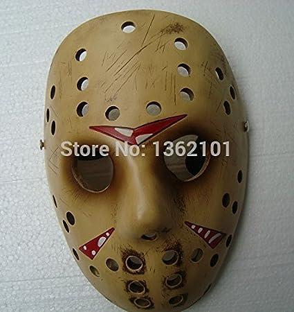 2015 - nueva Vintage viernes la 13th Jason Hockey Horror máscara Voorhees película disfraz película prop mascarada resina: Amazon.es: Hogar