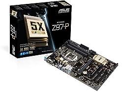 Asus 2600 Lga 1150 Motherboards Z97-p