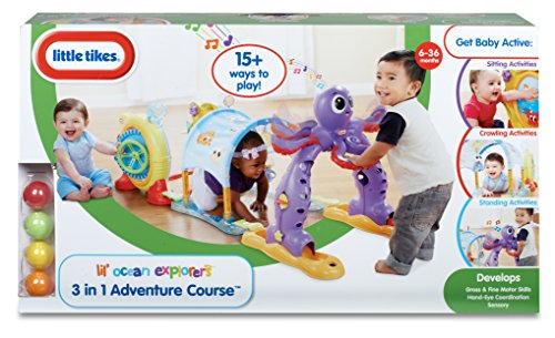 Little Tikes - Lil' Ocean Explorers  3-in-1  Adventure Course by Little Tikes (Image #7)