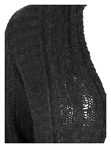 Zizzi Cardigan tallas grandes Mujer gris oscuro