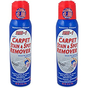 Amazon Com 18 Oz Lifter 1 Carpet Stain Amp Spot Remover Pack Of 2 Cans Home Amp Kitchen
