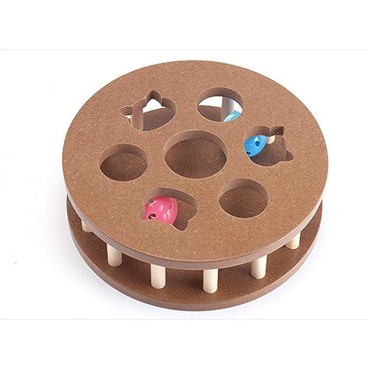 YOCC Pet Interactive Fun Roller, Columna de diseño Cat Roller Toys ...