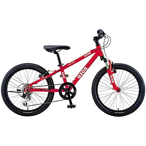 GIOS(ジオス) 子供自転車 GENOVA RED 22インチ 22インチ 2019年モデル   B07JHN26LP