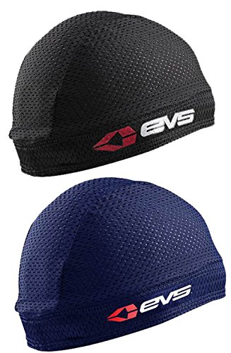 EVS Sports Sweat Beanie 2-Pack [1-Black & 1-Navy]