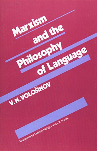 Marxism and the Philosophy of Language by Harvard University Press
