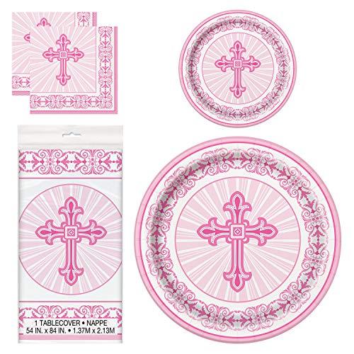 Unique Pink Radiant Cross Party Bundle | Luncheon