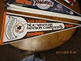 1984 San Diego Padres National League champions pennant scroll