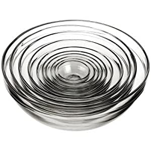10-Piece Mixing Bowl Value Pack Set includes: 1 oz., 2 oz., 4 oz., 6 oz., 10 oz., 16 oz., 1 qt., 1.5 qt., 2.5 qt. and 3.5 qt. bowls