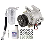 ac compressor trailblazer - New AC Compressor & Clutch With Complete A/C Repair Kit For Chevy GMC GM SUVs - BuyAutoParts 60-80265RK New