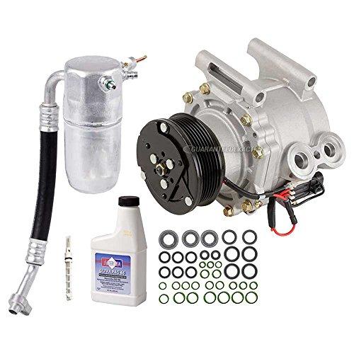 AC Compressor w/A/C Repair Kit For Chevy Trailblazer EXT & GMC Envoy XL - BuyAutoParts 60-80265RK New ()