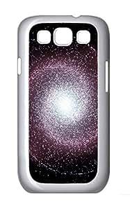 Samsung S3 Case Spiral Galaxy PC Custom Samsung S3 Case Cover White
