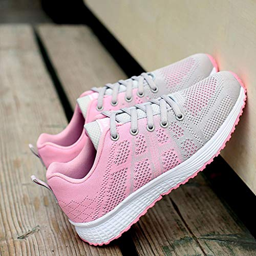 Baskets De Lgres Riou Femmes Gym Sneakers Casual Course Chaussures19 Gris Yoga BROEqTx5wn