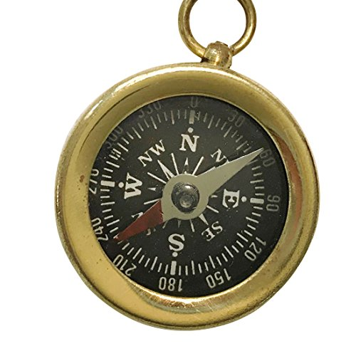 Steampunk Antique Nautical necklace - COMPASS