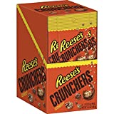 REESE'S Crunchers Chocolate Peanut Butter Snack, 8 Count