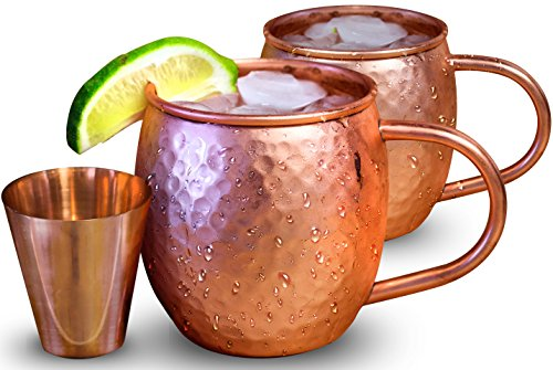 Willow & Everett Copper Mug with Copper Shot Glass
