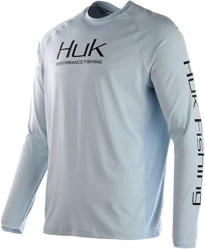 Huk Men/'s Pursuit Vented Long Sleeve Performance Shirt