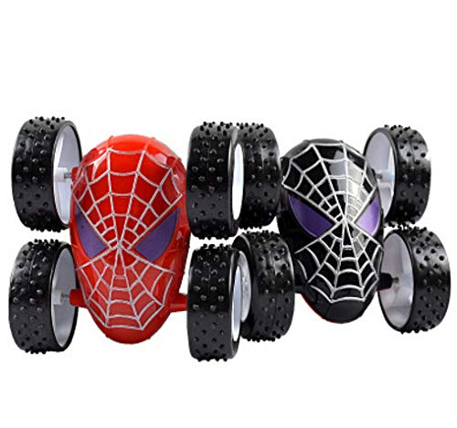 Itlovely Spiderman Inertia Alloy Car Back to Force Stunt Children39;s Novelty Toys Dumpers
