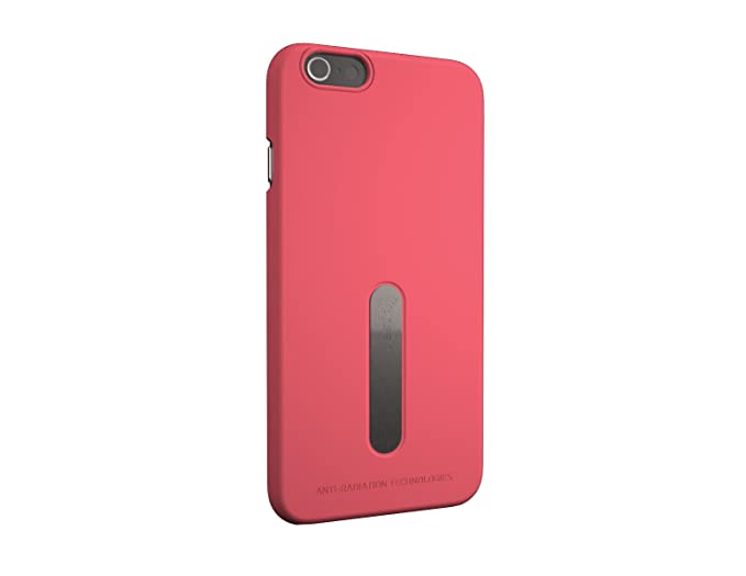 new arrival 1ac42 0da6a Vest Anti-Radiation Case Cover Radiation Protector for iPhone 6-6s Plus -  Red