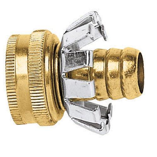 (Gilmour Brass Female Hose Mender Clincher Type, 5/8in)