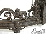 Outstanding Bronze Neo Classical Fancy Fireplace